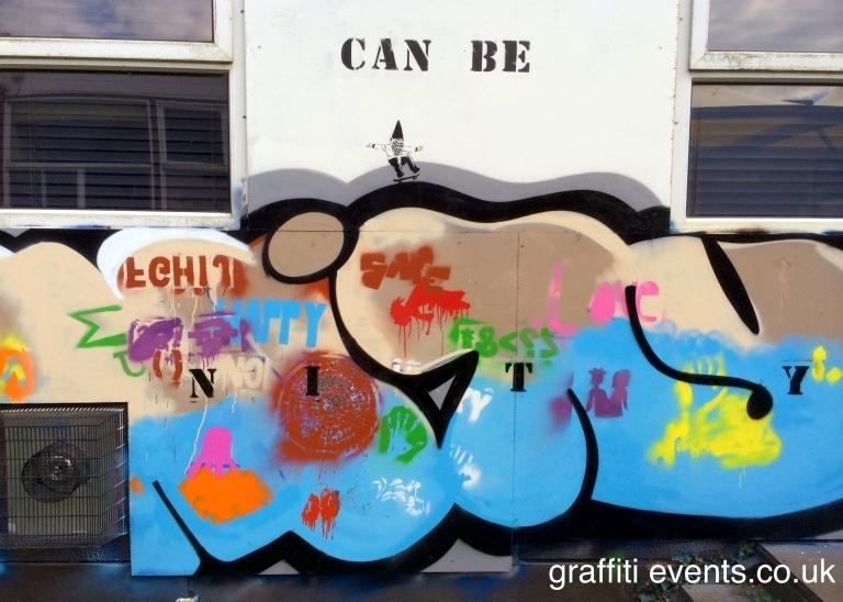 Mural Workshop at Fairmead School, Yeovil