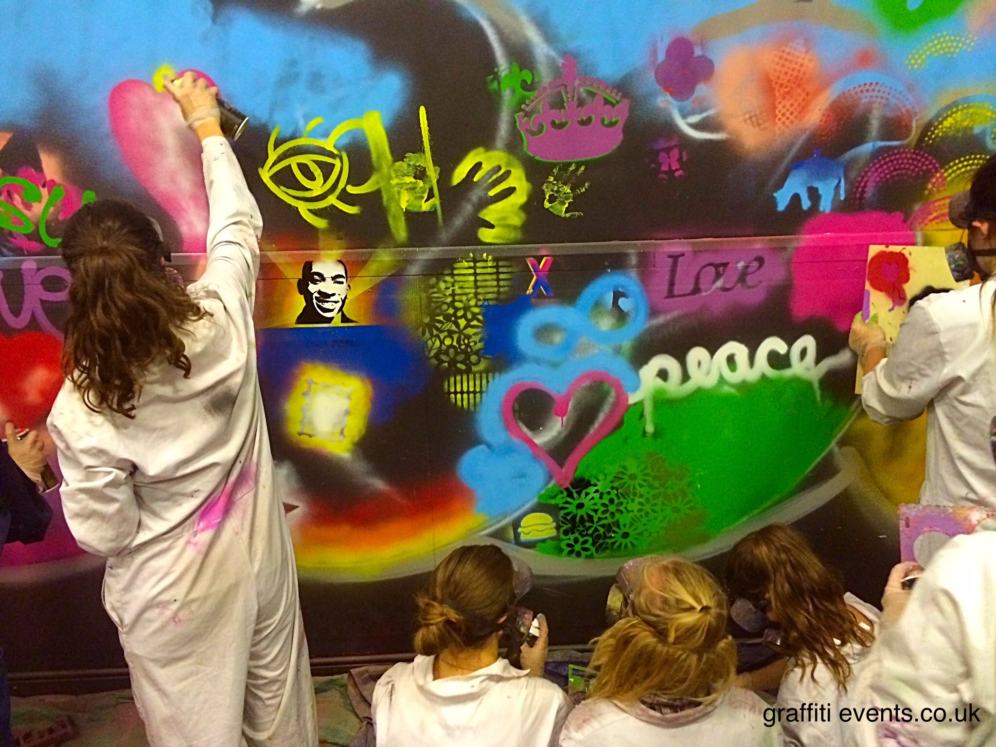 Mural Workshop at Fareham Community Church